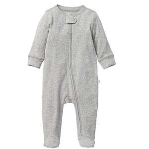 Gap Factory baby boy zipper footed one piece